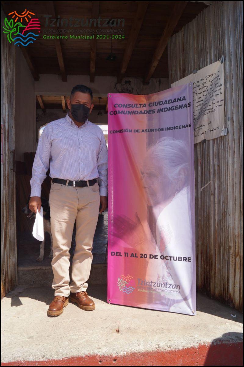 Consulta en Ihuatzio